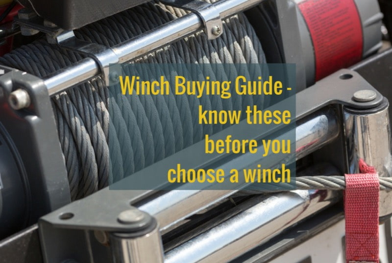 Winch Buying Guide - Best offroad winches