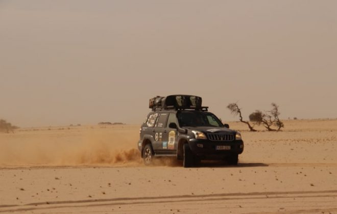 Budapest Bamako Rally in the Sahara