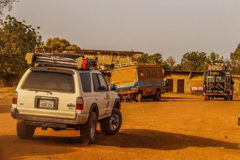 4Runner overlanding in Africa