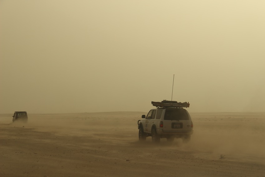 4Runner in the Sahara Desert