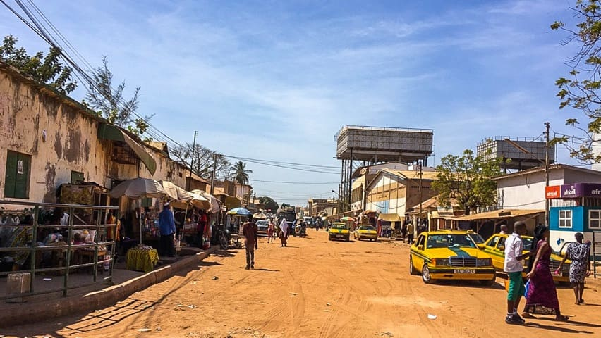 Banjul Downtown is not what you would expect
