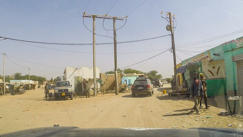 Unfriendly town in Mauritania