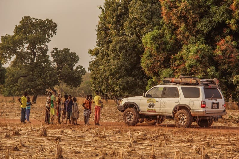 4runner Toyota overlanding in The Gambia