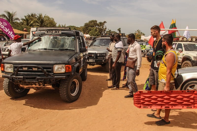 Land Rover Discovery in Banjul