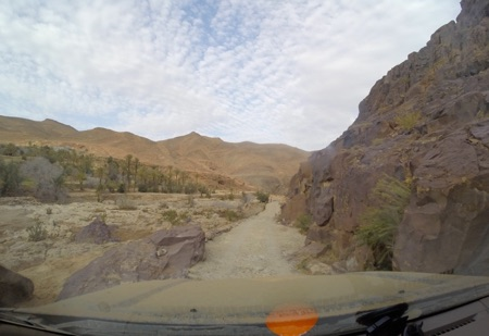 Off-roading in Morocco