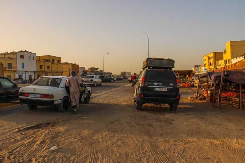 Main road in Nouakchott