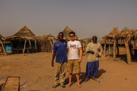 In a remote village in Senegal - Overlanding