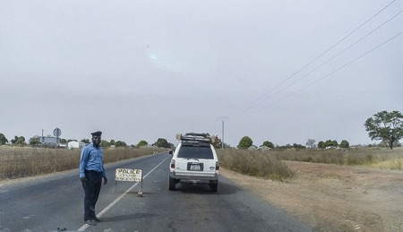 Roadblocks in The Gambia 1