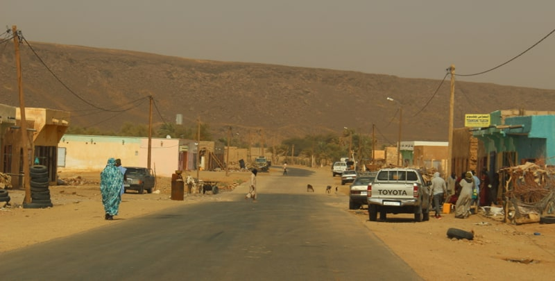 Rural town in Mauritania 2