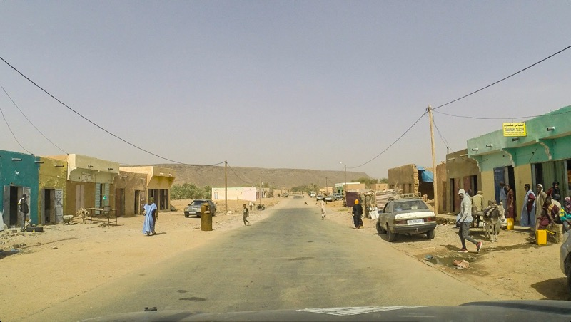 Rural town in Mauritania