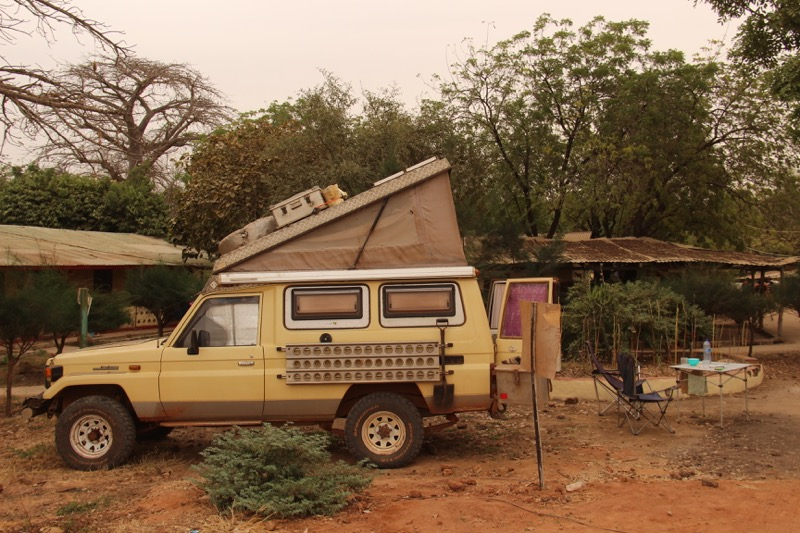 Overlanding Troopy in The Gambia