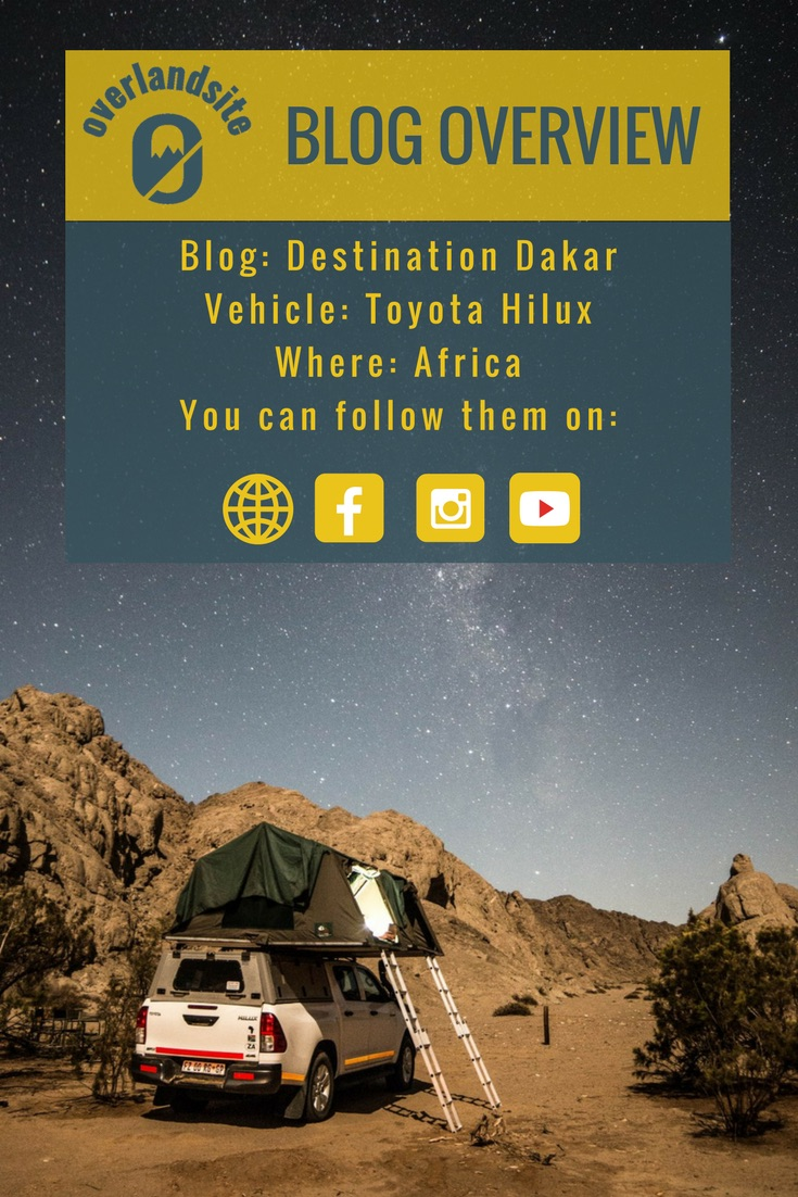 Destination Dakar