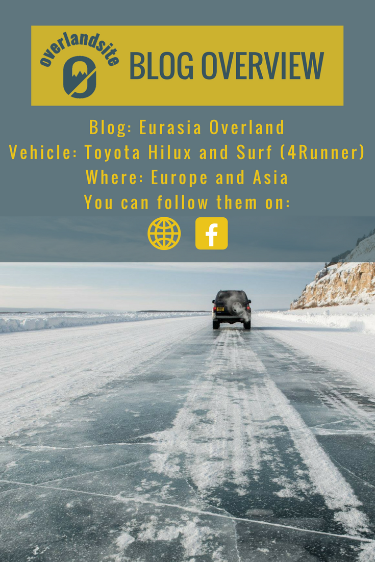 Eurasiaoverland takes you to unique places