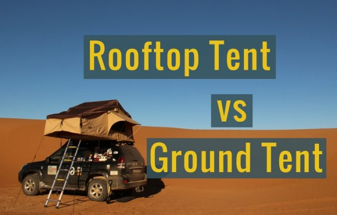 Rooftop tent vs ground tent