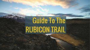 the rubicon trail