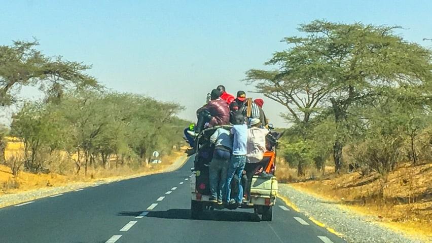 Dangerous travelling in Senegal