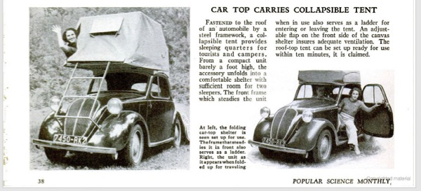 history of the rooftop tent
