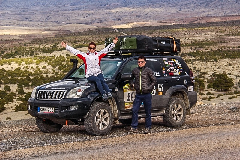 Team Overlandsite in Morocco