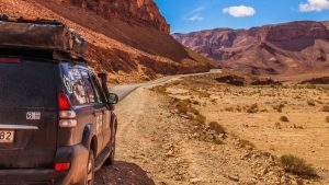 Tafraoute to Mhamid in Marocco - overlanders
