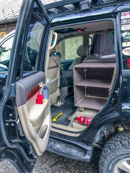 not ready yet - overlander drawers gx470