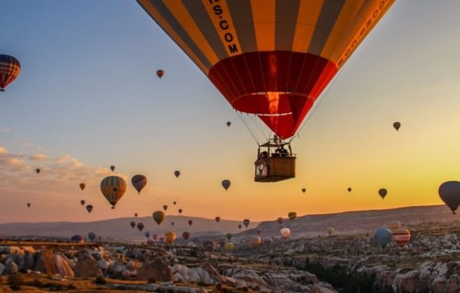 hot air ballooning in cappadocia - overlandsite