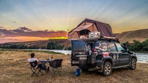 overland tent in Georgia