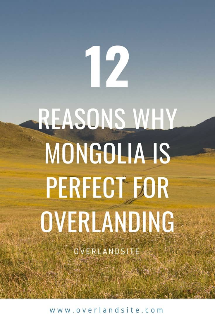why mongolia is perfect for overlanding