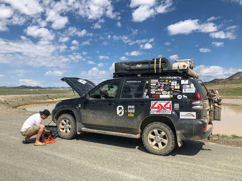 correct tire pressures