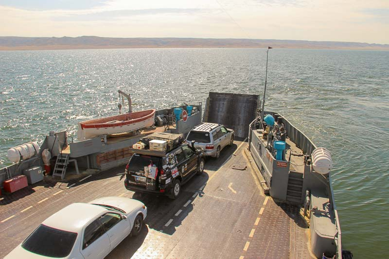 ferry crossing kazakhstan