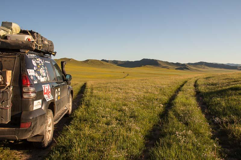 overlanders in mongolia