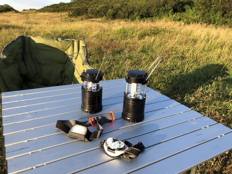 camping gear lights