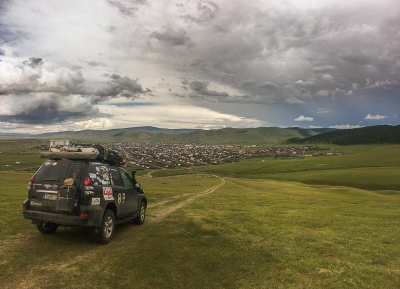 Orkhon valley overlanding