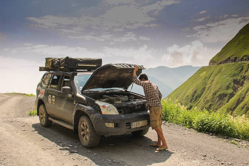 6 Problems with the Vehicle Since We Left Europe ...