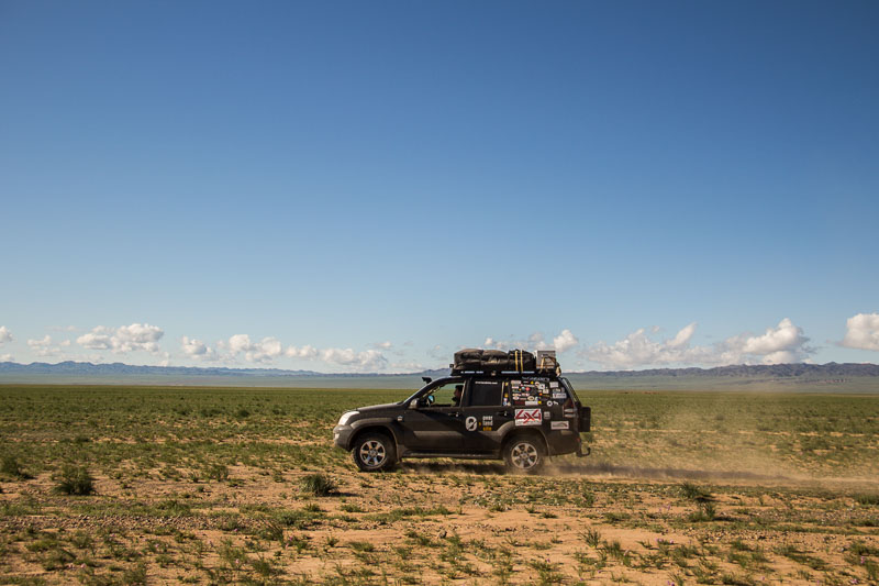 toyota in the gobi