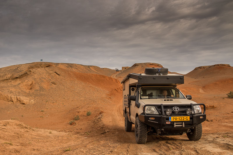 toyota hilux overlanding