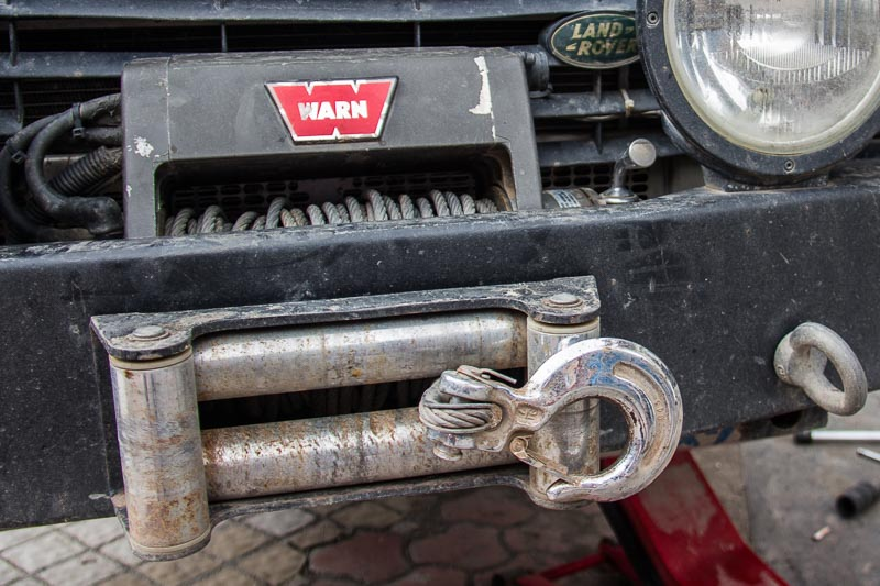 land rover defender best winch