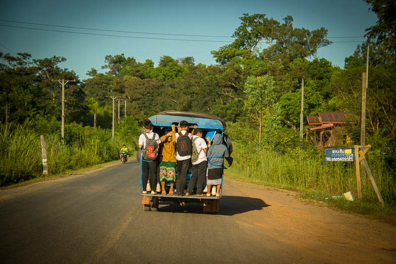the loop overlanding laos