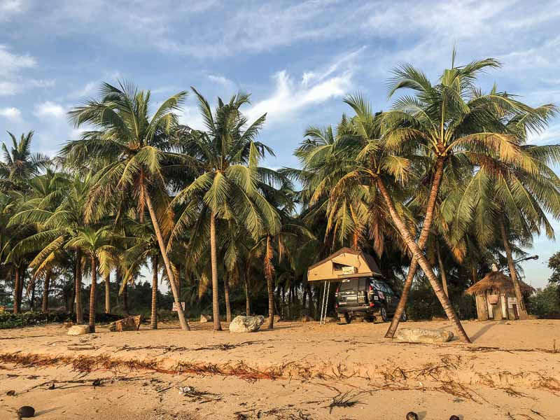 best overlanders campsite in thailand