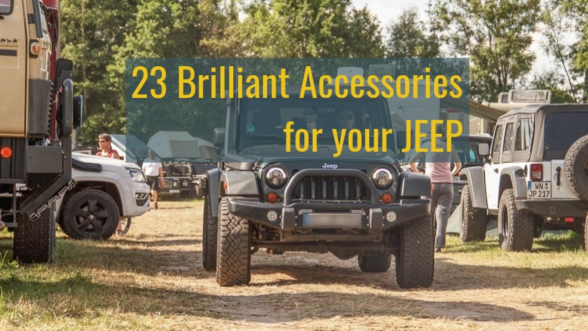 best jeep wrangler accessories