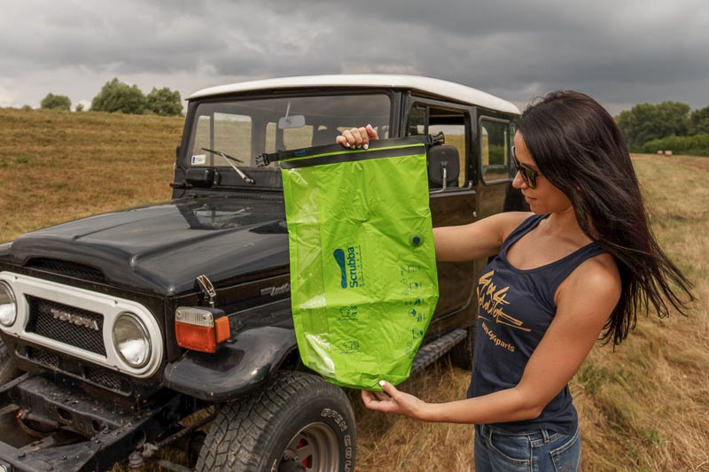 detailed review of the scrubba washbag