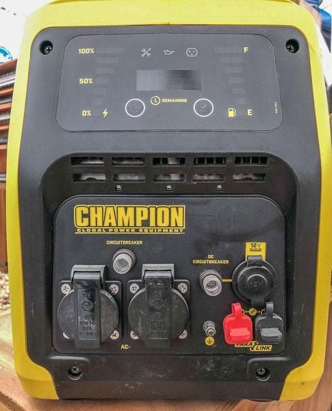 champion 3100 watt generator review