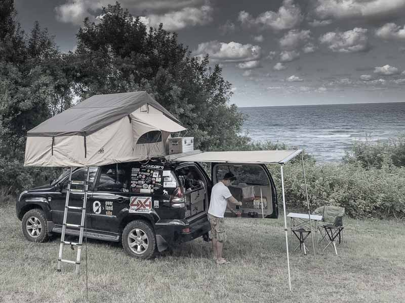 camping equipment for overlanding