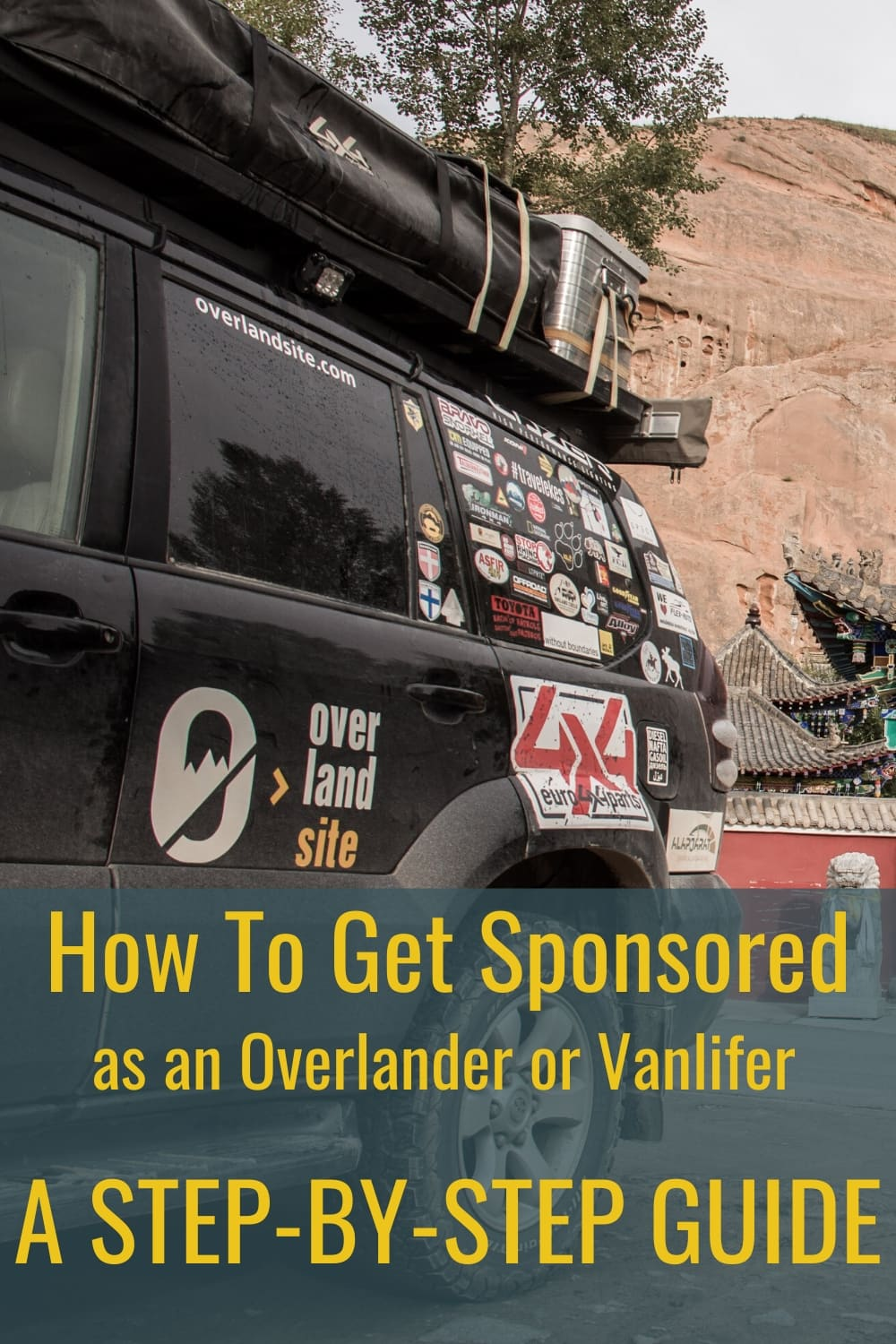 how to get sponsored as a vanlifer