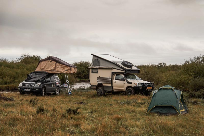 rooftop tents or ground tents