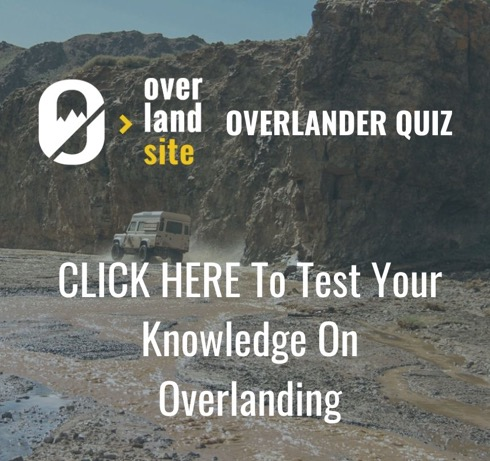 Test Your Knowledge on Overlanding