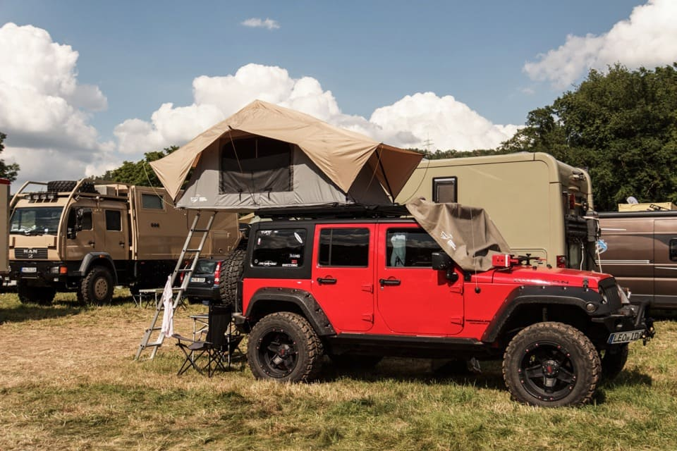 best car roof tent