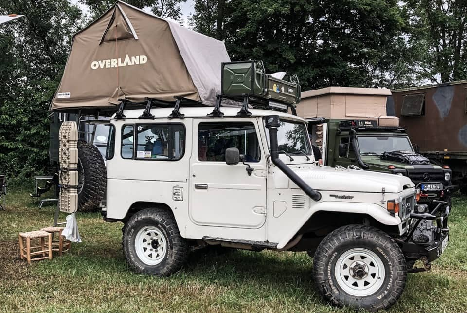 best car roof tent or overlanding