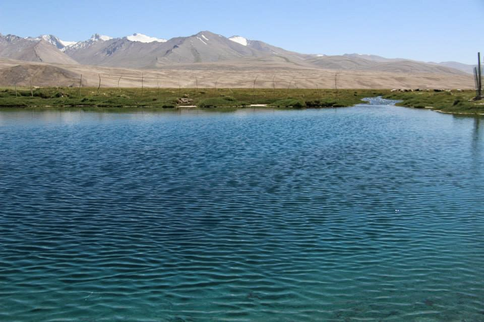 Pamir Highway lake