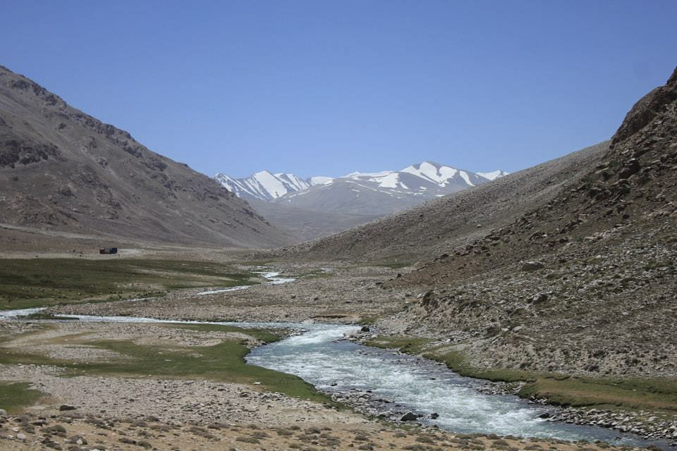 along the Pamir Highway