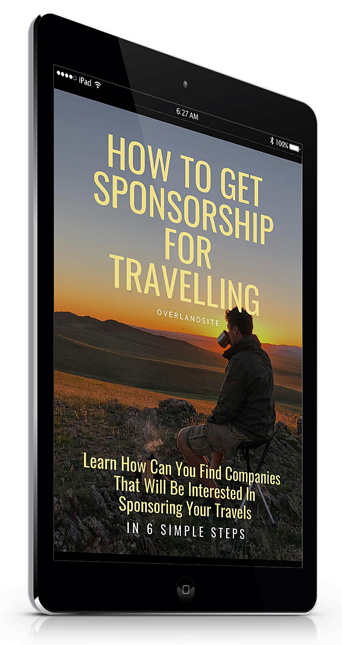 get sponsored to travel
